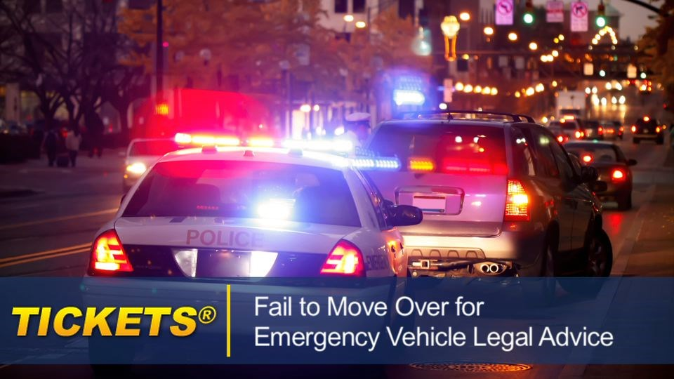 Fail to Move Over for Emergency Vehicle Legal Advice failtomoveoverforemergencyvehicle