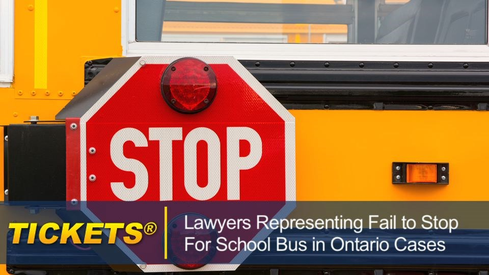 Lawyers Representing Fail to Stop for School Bus in Ontario Cases failtostopforschoolbusontario